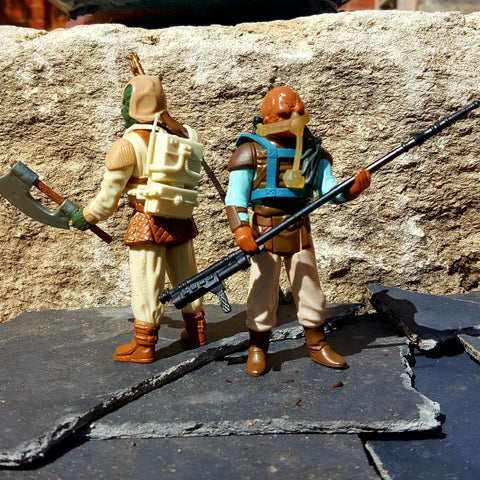 VINTAGE STAR WARS : BOUNTY HUNTER EQUIPMENT HOARD