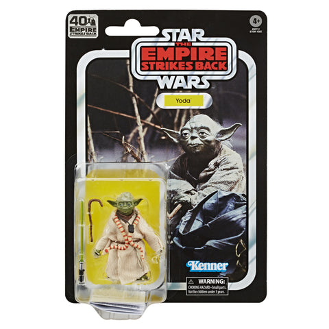 Star Wars 40th Anniversary Wave 1 Yoda