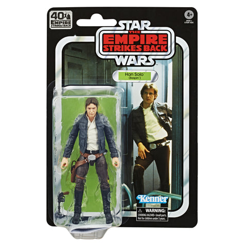Star Wars 40th Anniversary Wave 1 Han Solo Bespin