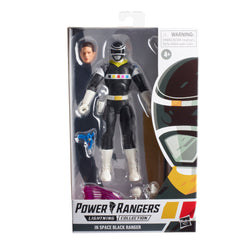 Power Rangers Lightning Collection In Space Black Ranger Ranger Figure - Pre-order