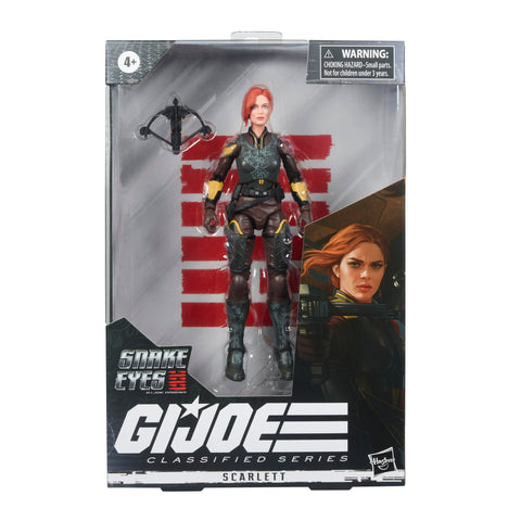 G.I. Joe Classified Series Snake Eyes: G.I. Joe Origins Scarlett Action Figure   - PRE-ORDER