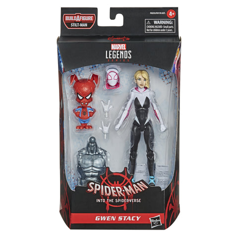 Marvel Legends Into the Spider-Verse Gwen Stacy and Spider-Ham