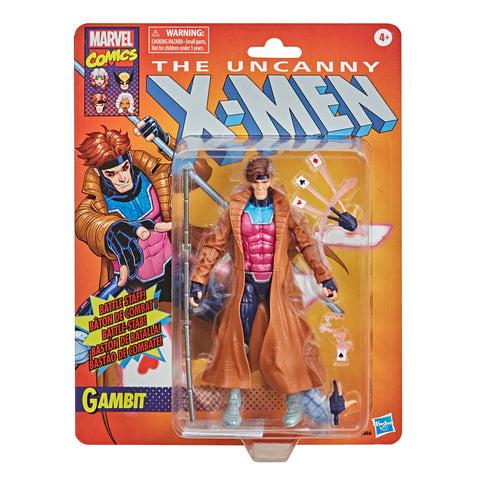 Marvel Legends Vintage Collection Gambit Figure
