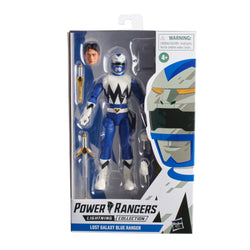 Power Rangers Lightning Collection Lost Galaxy Blue Ranger Figure - Pre-order