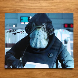 PAUL KASEY AS ADMIRAL RADDUS 8X10 AUTOGRAPHED