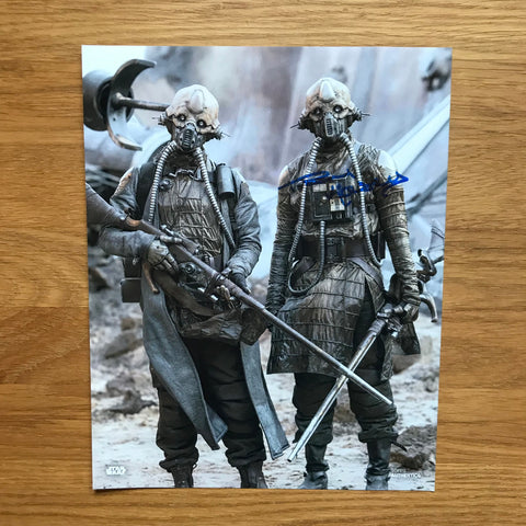 PAUL KASEY AS EDRIO TWO TUBES 8X10 AUTOGRAPHED