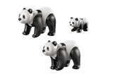 PLAYMOBIL Pandas with Cub - 70353