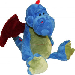 11 Inch Plush Blue Dragon