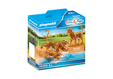 PLAYMOBIL Tigers with Cub - 70359