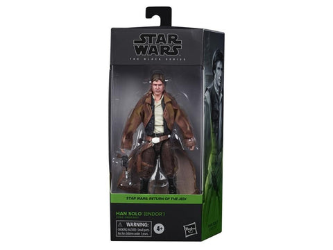 Star Wars Black Series Han Solo Endor Trench Coat