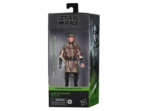 Star Wars Black Series Luke Skywalker Endor Battle Poncho