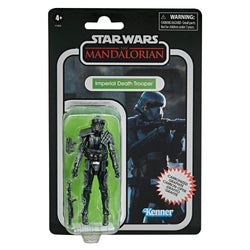 Star Wars Vintage Collection Carbon Collection Exclusive Action Figure - Imperial Death Trooper PRE-ORDER
