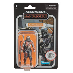 Star Wars Vintage Collection Carbon Collection Exclusive Action Figure - The Mandalorian PRE-ORDER