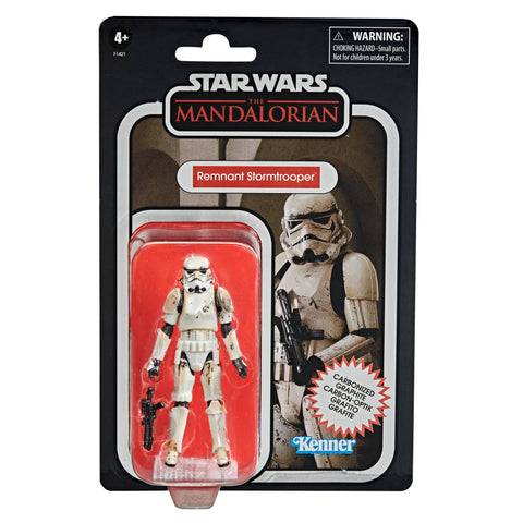 Star Wars Vintage Collection Carbon Collection Exclusive Action Figure - Remnant Stormtrooper