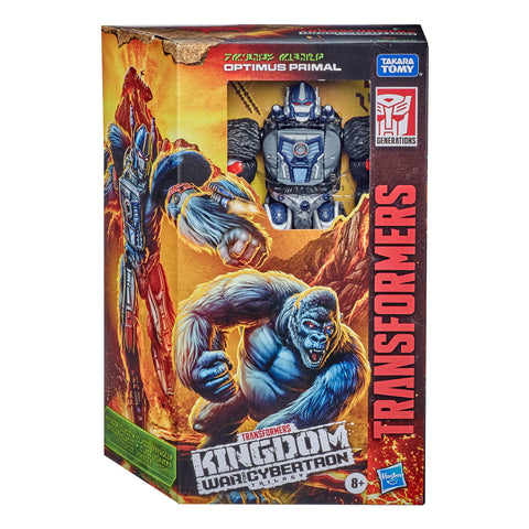 Transformers Kingdom Voyager Optimus Primal