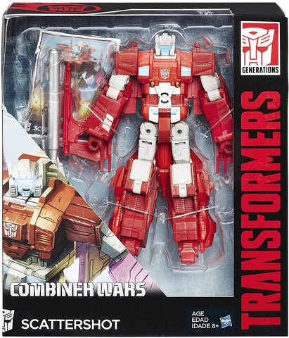Transformers Combiner Wars Voyager Scattershot - Non Mint Box