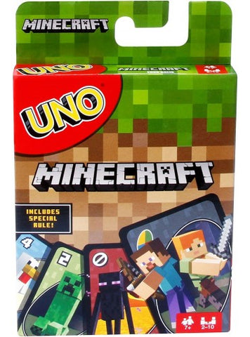 Uno Card Game - Minecraft Edition