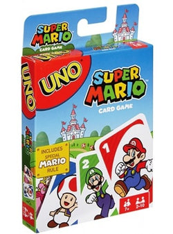 Uno Card Game - Super Mario Edition