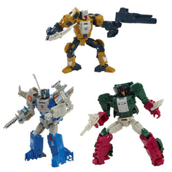 Transformers Headmaster G1 Retro Assortment Set of 3 – Weirdwolf, Highbrow & Skullcruncher  - PRE-ORDER