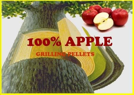 Lumberjack 100% Apple Pellets 20 lb-TheBBQHQ