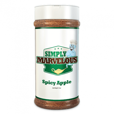 Simply Marvelous BBQ Rub Spicy Apple - 12.5oz-TheBBQHQ