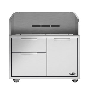 DCS 36 Inch Grill Cart With Access Drawers-TheBBQHQ
