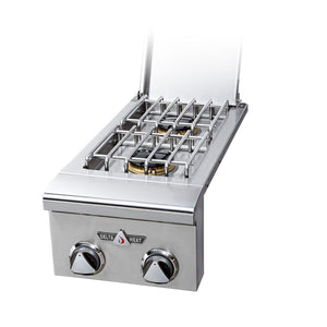 Delta Heat Double Side Burner, (L/N)-TheBBQHQ