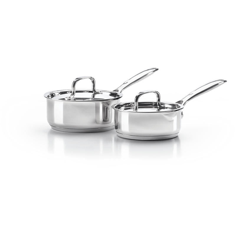 Napoleon STAINLESS STEEL 2-PIECE SAUCE PAN SET-TheBBQHQ