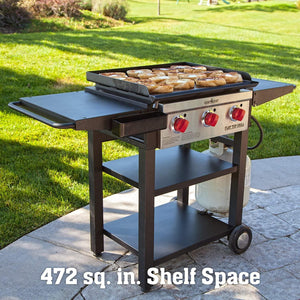 Camp Chef 475 3-Burner Flat Top Propane Gas Grill - FTG475