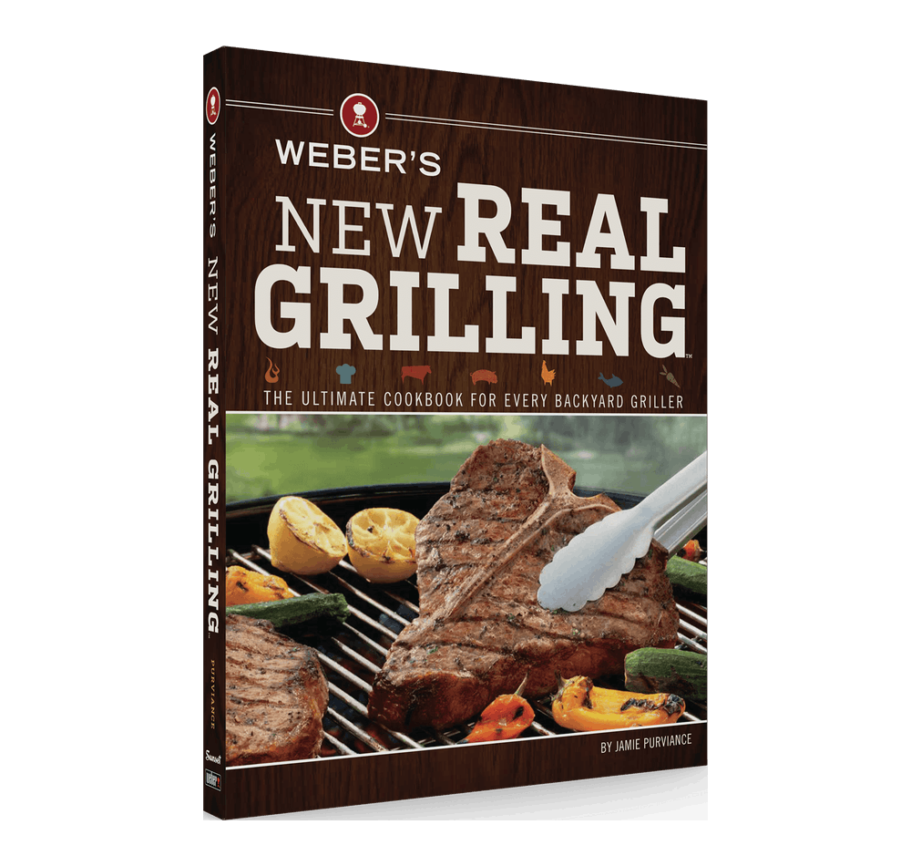 Weber's New Real Grilling Cookbook-TheBBQHQ