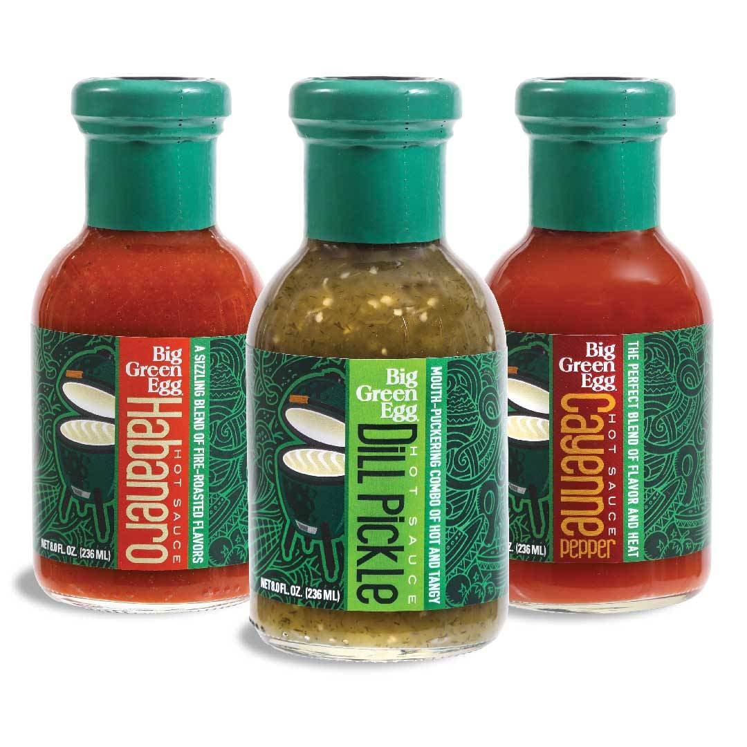 Big Green Egg Hot Sauces - TheBBQHQ