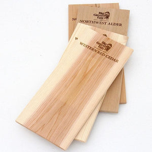 "Big Green Egg - Western Red Cedar Natural Grilling Planks - 2 Pack (11"") - TheBBQHQ"