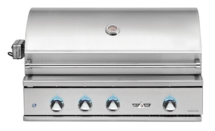 "Delta Heat 38"" 3 Burner Built-In Gas Grill"