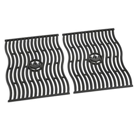Napoleon TWO CAST IRON COOKING GRIDS for Prestige® 500