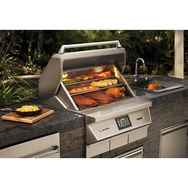 "Twin Eagles 36"" Wood Fired Pellet Grill and Smoker-TheBBQHQ"