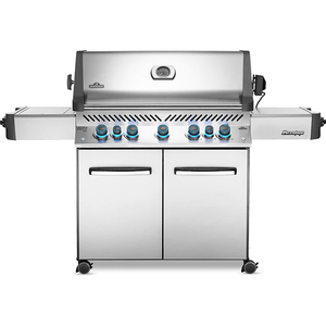 Napoleon PRESTIGE® 665 RSIB Infrared Side & Rear Burners - Stainless Steel-TheBBQHQ