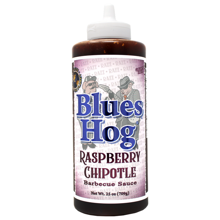 Rasberry Chipotle BBQ Sauce Squeeze Bottle 25 oz