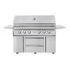 "54"" Twin Eagles Grill Base w/ Storage Drawers, Two Doors"