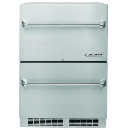 "Twin Eagles 24"" Outdoor Refrigerator Two Drawer Refrigerator"