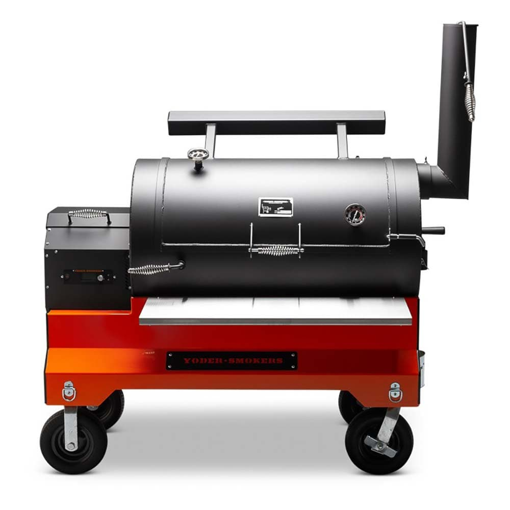 Yoder Smokers YS1500S Competition Cart Pellet Grill