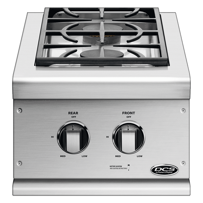 "DCS 14"" Double Side Burner Built-In"