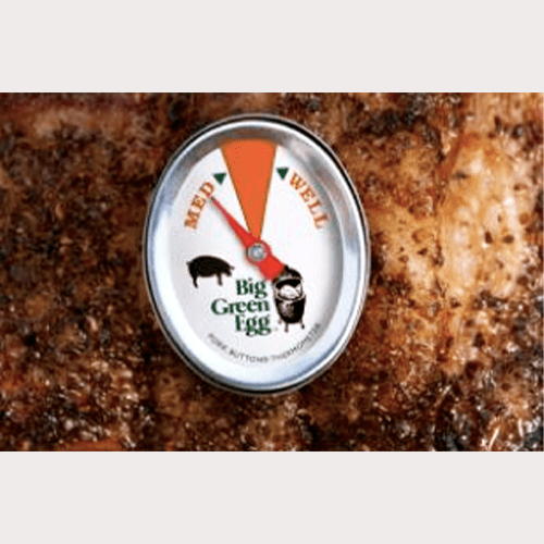 Big Green Egg - Pork Button Thermometer