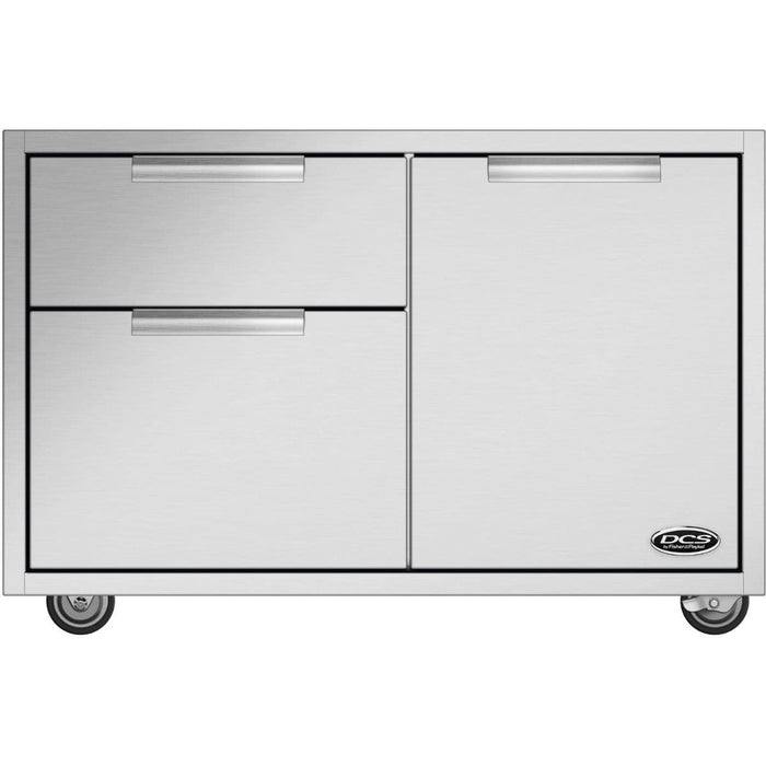 DCS 36 Inch Grill Cart With Access Drawers