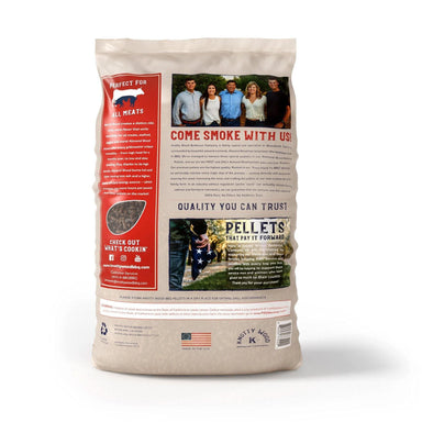Knotty Wood 100% Pure Almond Wood Pellets - TheBBQHQ