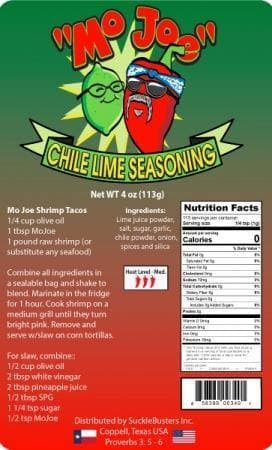 Suckle Busters Mo Joe Chile Lime Seasoning