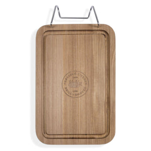 Portable Kitchen PK Durable Teak Cutting Board-TheBBQHQ