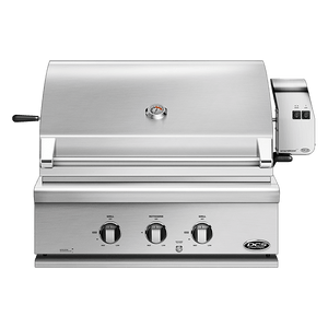 DCS 30 Inch Traditional Built-In Liquid Propane Gas Grill With Rotisserie - BH1 Model 7 Series-TheBBQHQ