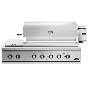 DCS Series 7 Traditional 48-Inch Built-In Gas Grill With Double Side Burner & Rotisserie