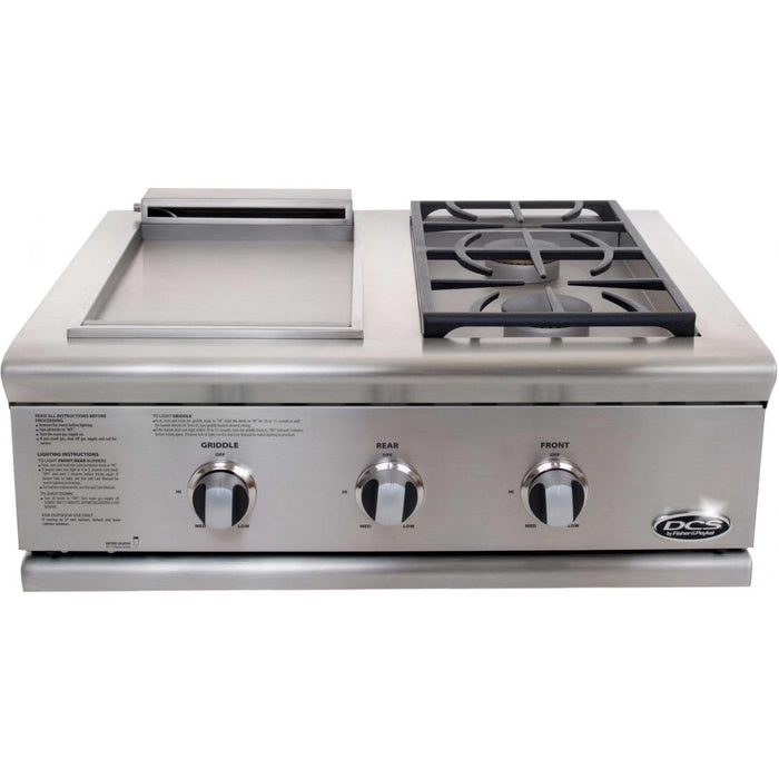"DCS 30"" Liberty Dual Side Burner And Griddle Unit"