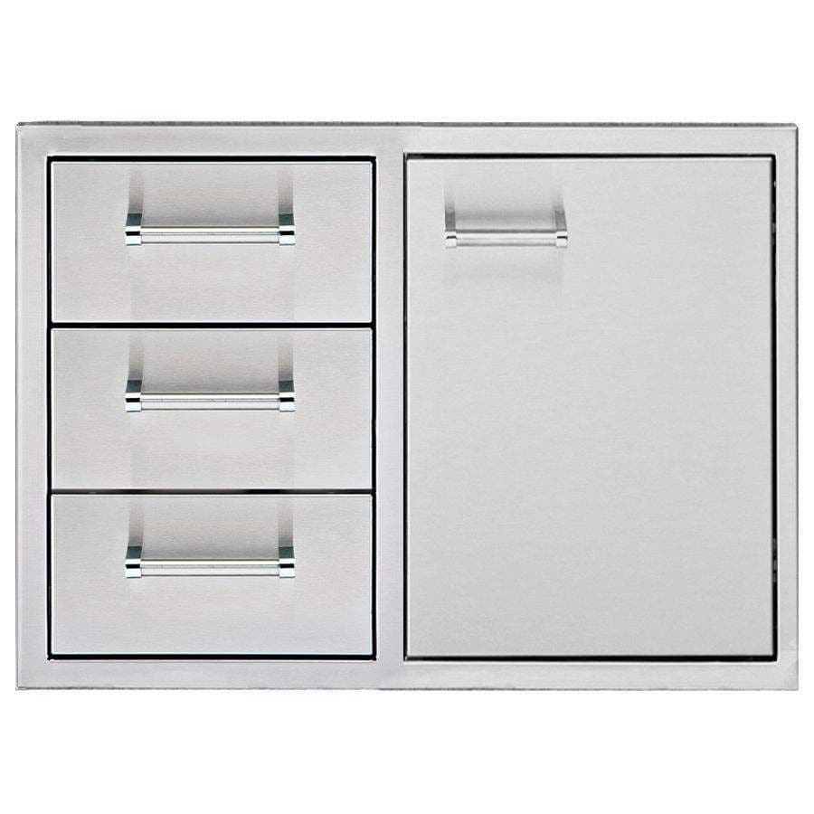"Delta Heat 36"" Door 3-Drawer Combo-TheBBQHQ"